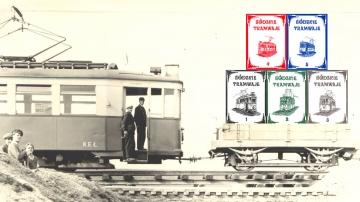 Łódzkie tramwaje - pocztówki