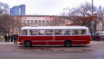 20. rocznica wycofania z eksploatacji autobusów typu Jelcz MEX