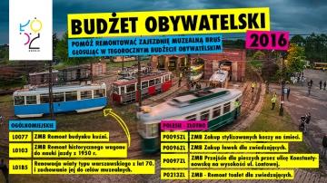 Budżet Obywatelski w Łodzi: głosuj na Zajezdnię Muzealną Brus