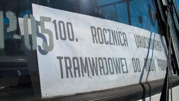 100. rocznica uruchomienia linii na Rudę Pabianicką i do Aleksandrowa