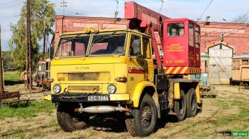 Star 266 #223 żuraw samochodowy