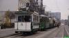 Parada zabytkowych tramwajów na Święto Niepodległości 2015