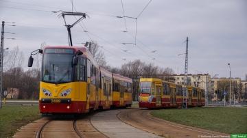 Na ulicach Łodzi testowaliśmy zmodernizowany tramwaj M8C [ZDJĘCIA]