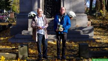 KMST na XXI kweście na Starym Cmentarzu w Łodzi